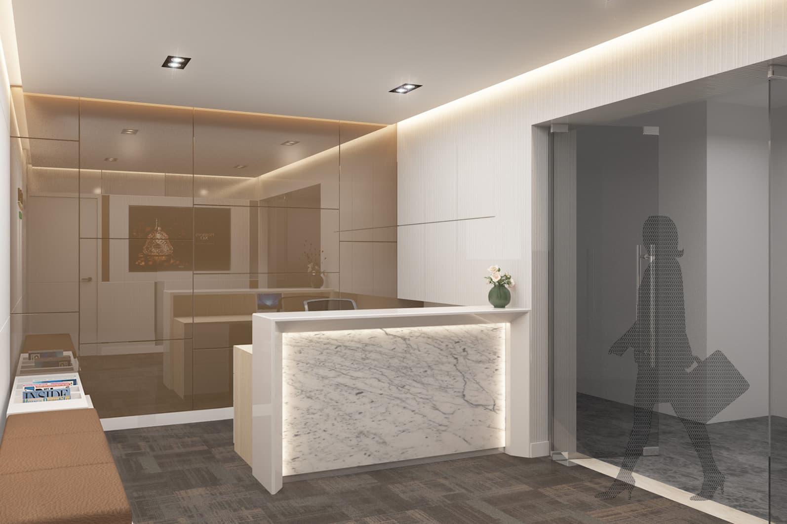 Uffici Moet Hennessy - Design & 3D Rendering