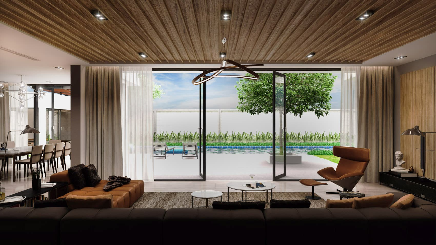 Villa Thuan - Interior Design & 3D Rendering