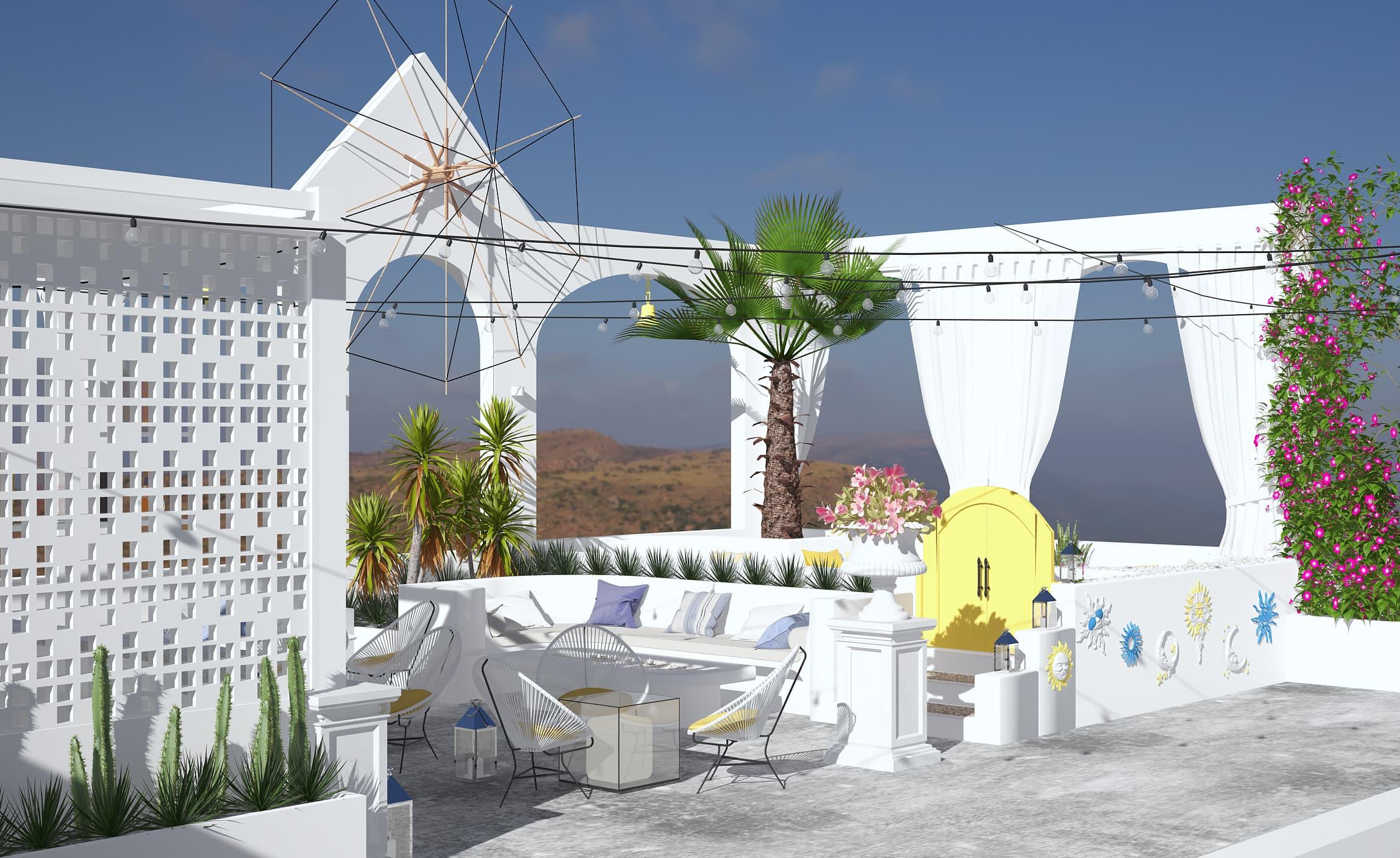 Zone Four Pub - Design e Rendering